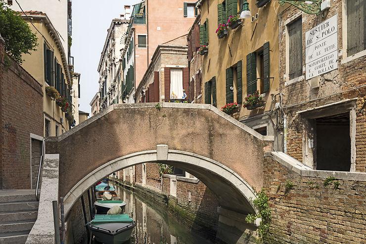 Le plus coquin - Le Ponte delle Tette (le pont des Tétons) à Venise (Italie)
