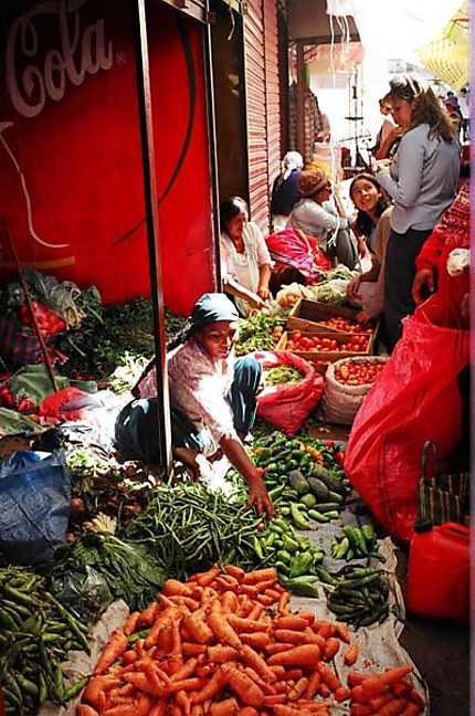 marché bolivien
