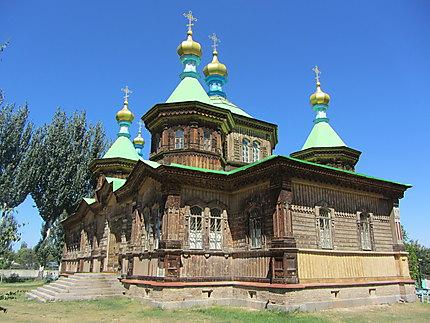 Eglise orthodoxe en bois