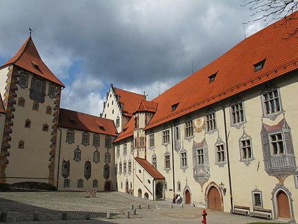 Cour intérieure du château de Füssen