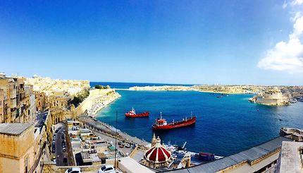 Un chaud après midi d'août à Malte