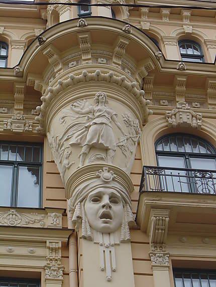 Riga : Art Nouveau