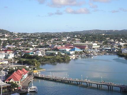 Arrivée à Antigua