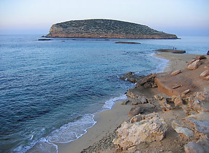 plage bleu