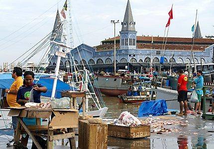 Marché au poisson de Belem