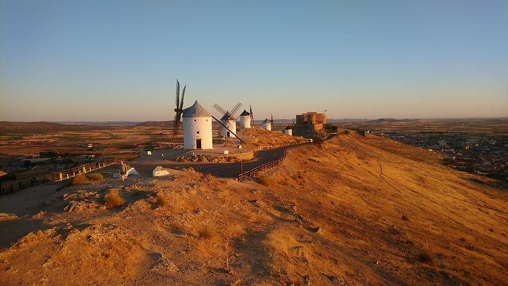 Moulins à Consuegra, Espagne
