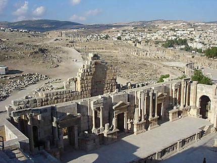 Les ruines de Jerash