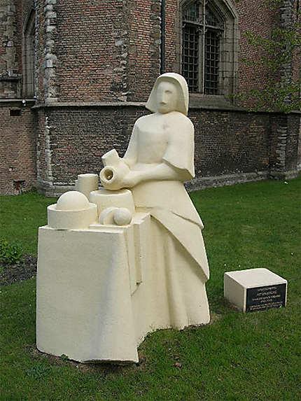 La laitiére de Vermeer version contemporaine