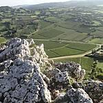 Sommet de la roche de Solutré