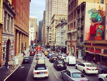 Rush hour à San Francisco