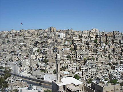 Vue d'Amman depuis la citadelle