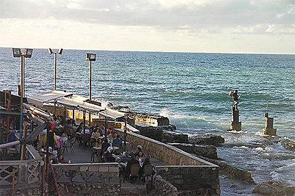Pêcheur à Beyrouth
