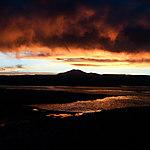 Coucher de soleil sur la Laguna Tebenquiche
