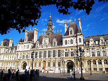 Façade de l'Hôtel de Ville de Paris