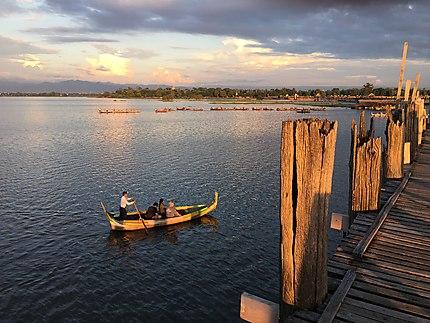 Le pont U bein, Mandalay