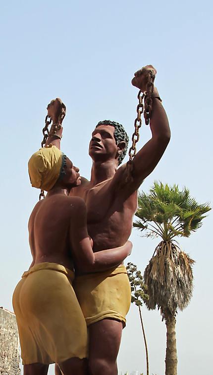 Statue - île de Gorée