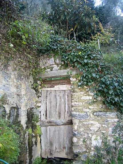 Porte du potager