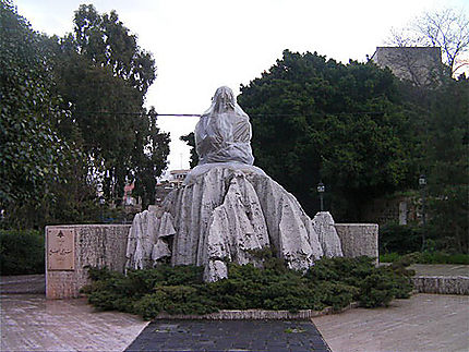 Statue à Beyrouth