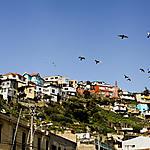 Vol au dessus de Valparaiso