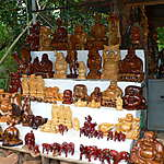 Statuettes dieux du foyer