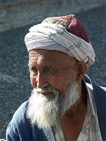 Un vieil ouzbek