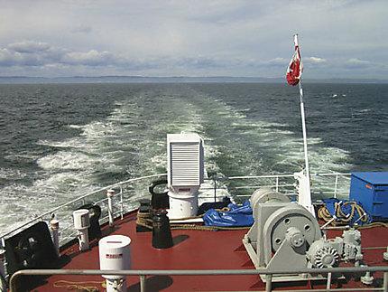Adieu côte nord!