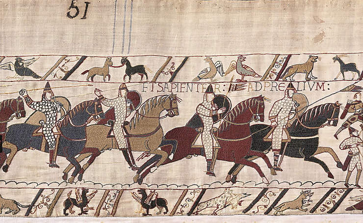 Bayeux, la tapisserie des exploits