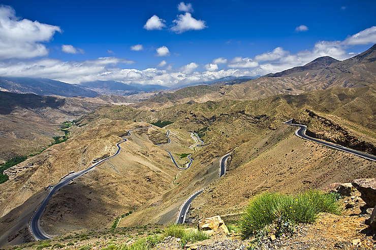 Route du Tizi n'Tichka (Maroc)