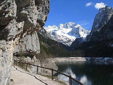 Gosausee et Hoher Dachstein (2996 m)