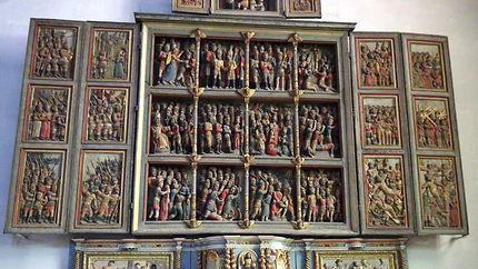 Retable des dix mille martyrs, Eglise Saint-Pierre
