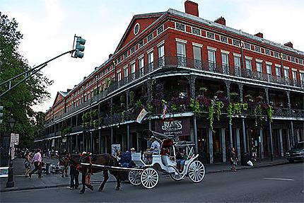 Calèche à la Nouvelle-Orléans