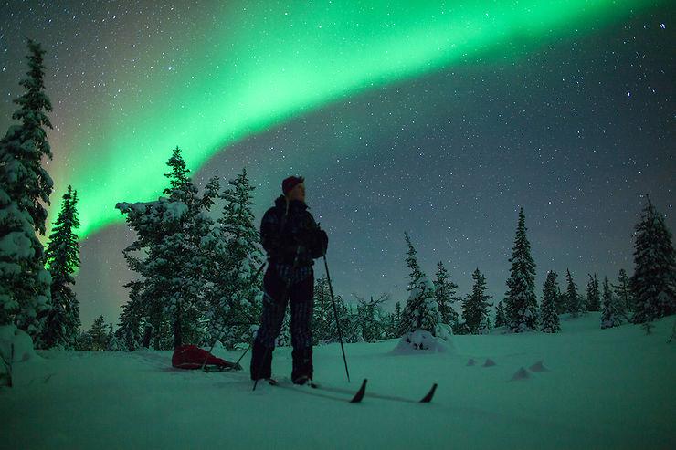 Finlande : en Laponie, au pays des aurores boréales