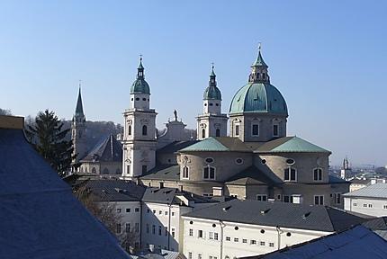 Dom St. Rupert vue depuis le Nonnberg