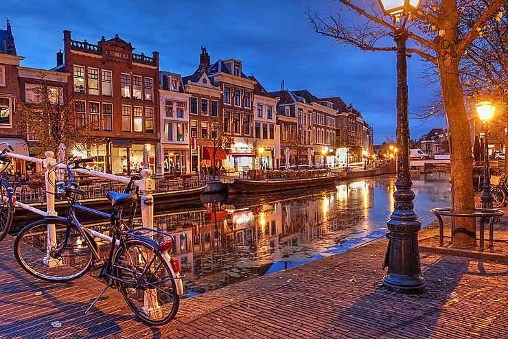 Les charmes de Leiden (Leyde)