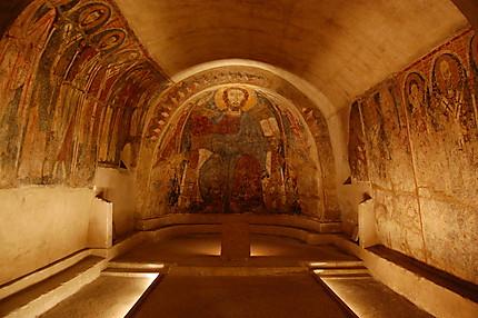 """La crypte de """"San Vito Vecchio"""""""