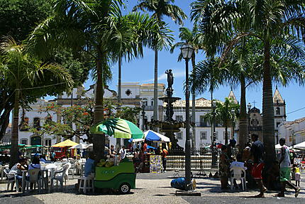 Praça Tereiro de Jesus à Salvador