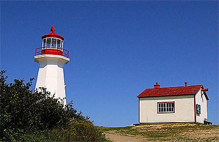 Le phare de Cap Gaspé