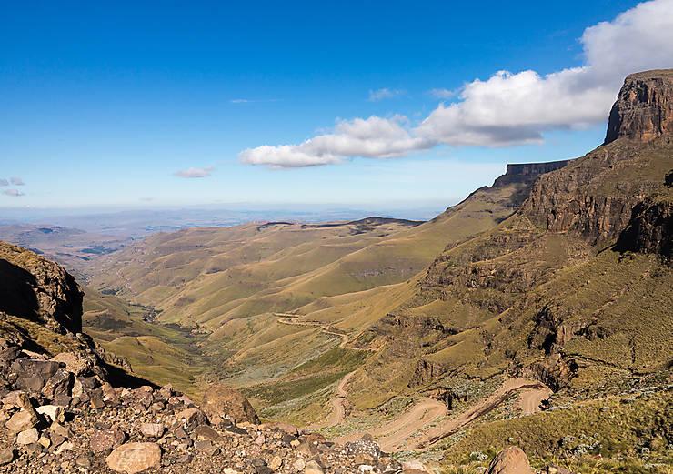 Sani Pass (Afrique du Sud, Lesotho)