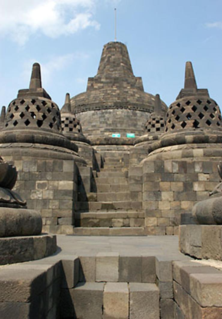 Les temples de Borobudur et de Prambanan