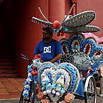Trishaw à Malacca