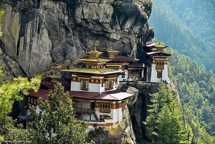 Nid du Tigre ou Taktshang, Bhoutan