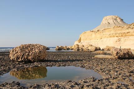 Qbajjar bay, à coté de Marsalforn