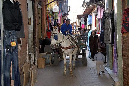 Livraison dans la Medina