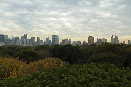 Skyline sur Central Park