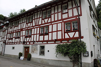 Maison à colombage