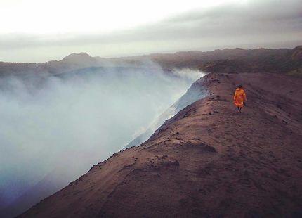 Marche sur un volcan