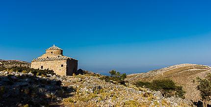 Eglise sur l'Île d'Amorgos