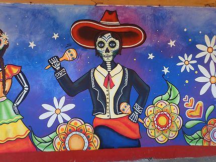 Peinture murale de Salvador