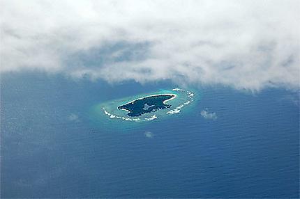 Atoll Coron island
