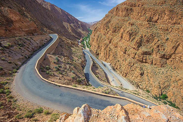 Gorges du Dadès (Maroc)